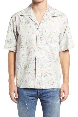 JOHN ELLIOTT Men's John Elliot Men's Short Sleeve Button-Up Shirt