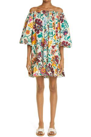 La DoubleJ Women's Ladouble J Paloma Off The Shoulder Cover-Up Dress