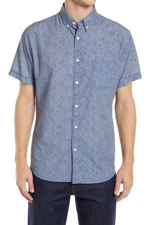 Rails Men's Monaco Floral Short Sleeve Button-Down Shirt