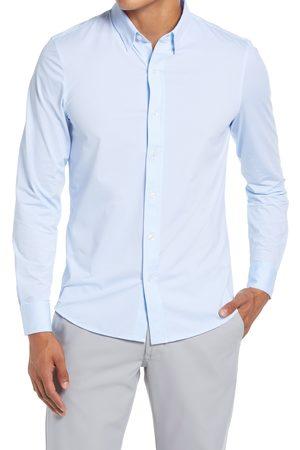 Rhone Men's Commuter Pinstripe Button-Up Shirt
