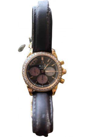 Omega De Ville pink gold watch