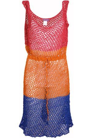 ROSE CARMINE Crochet Beach Dress