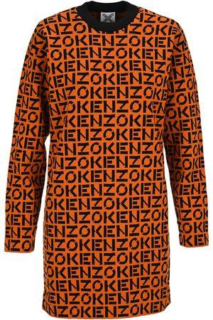 Kenzo Women Knitted Dresses - Monogram knitted dress