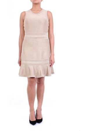 MICHAEL Michael Kors Short -colored sleeveless dress