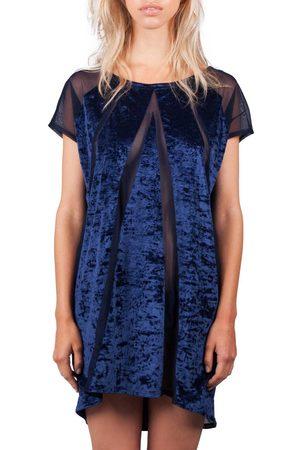 Reset Priority Cover Up Dress - Blu Velvet