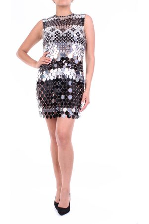 Paco rabanne Sleeveless black -colored short dress