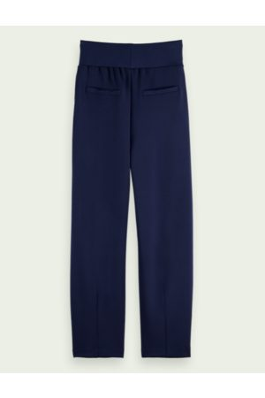 Scotch and Soda Tapered high-rise sweatpants - Navy
