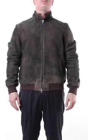 Mino Ronzoni Olive leather jacket