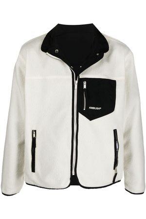 Ambush Men Fleece Jackets - Reversible Logo Fleece Jacket