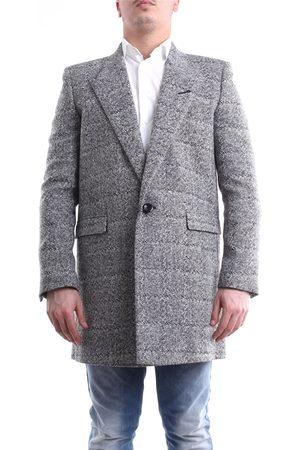 Saint Laurent Paris Saint Laurent coat in and white
