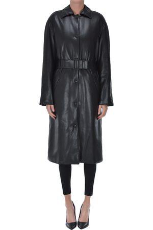 MSGM Eco-leather coat