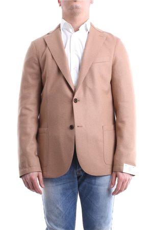 ELEVENTY Jackets Blazer Men Camel