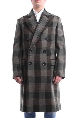 DRIES VAN NOTEN Green and coat