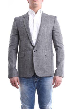 Saint Laurent Saint Laurent jacket in and white