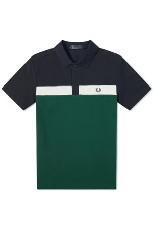 Fred Perry Contrast Panel Polo Ivy