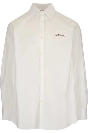VALENTINO MEN'S WV3ABA957H8A01 OTHER MATERIALS SHIRT
