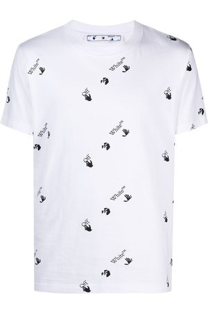Off-White All Over Logo Slim T-Shirt
