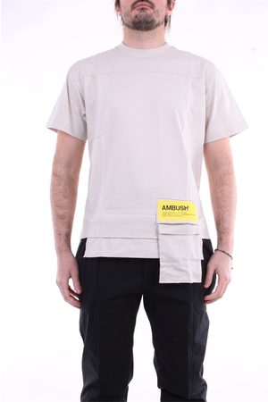 AMBUSH T-shirt with short sleeves in beige color