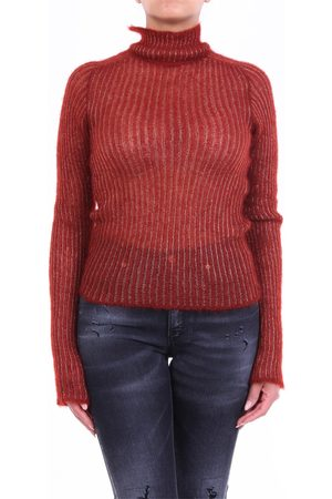 FORTE FORTE Forte Strong rust-colored turtleneck