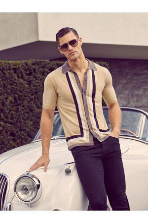 MrQuintessential Men Polo Shirts - Sammy Silk Blend Polo Shirt