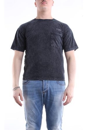 Off-White Men Short Sleeve - T-shirt with short sleeves in anthracite color