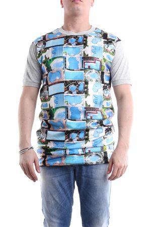 Maison Margiela T-shirt with patterned short sleeves