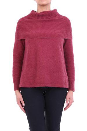Alysi Knitwear High Neck Women Bordeaux