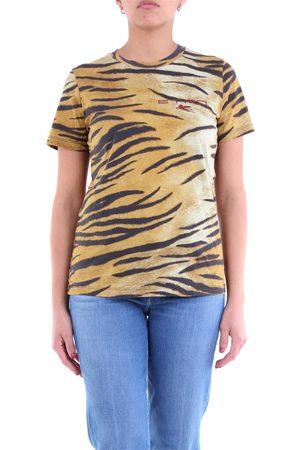 Etro Mustard and black short sleeve t-shirt