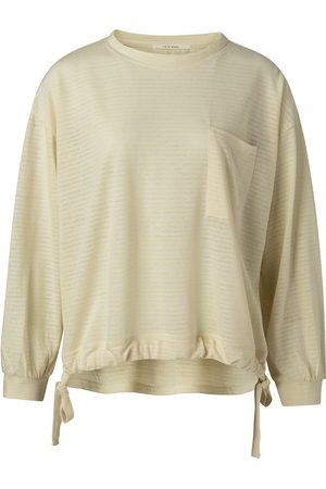YaYa Bleached Sand Gathered Sweater