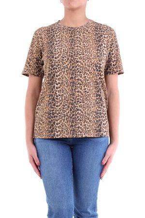 Saint Laurent Paris Saint Laurent leopard t-shirt with short sleeves