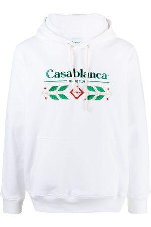Casablanca Men Hoodies - Logo Hoodie