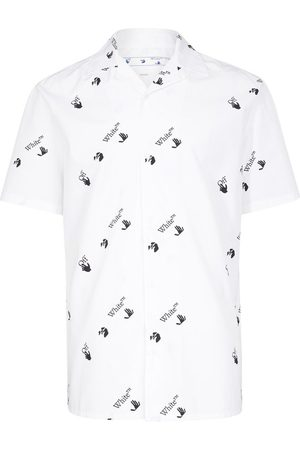 Off-White All Over Logo Holiday Shirt
