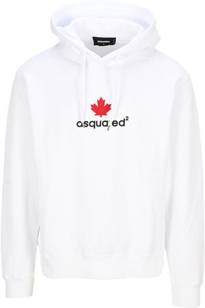 Dsquared2 Maple leaf-print hoodie