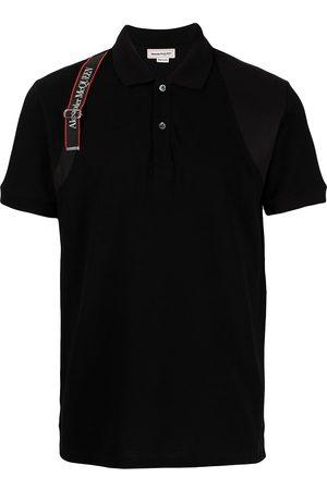 Alexander McQueen Logo Harness Polo Shirt
