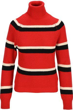 Marni Women Turtlenecks - Striped high neck jumper
