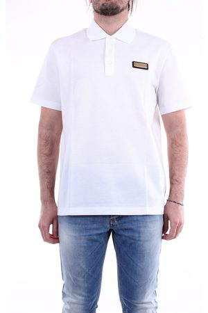 Versace Men Polo Shirts - Polo shirt with short sleeves in