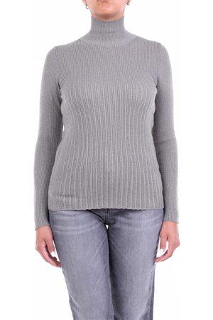 Lorena Antoniazzi Women High Necks - Knitwear High Neck Women Cement