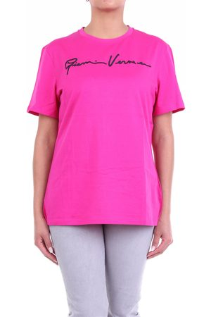 VERSACE Women Short Sleeve - Short sleeve t-shirt in fuchsia color