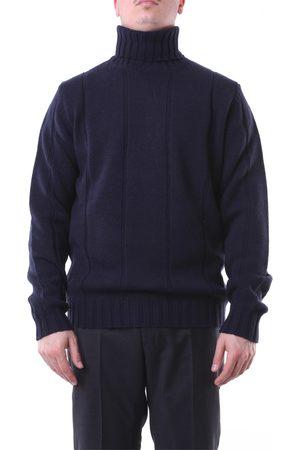 Jeordie's Knitwear High Neck Men Navy