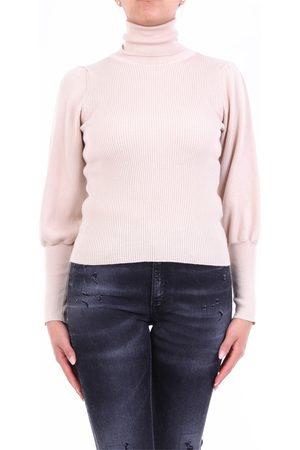 Semi Couture Turtleneck semicouture in beige color