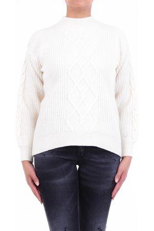 Calvin Klein Knitwear High Neck Women Ecru