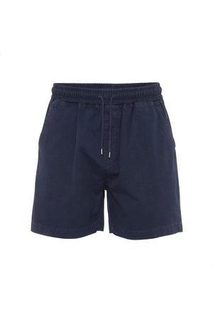 Colorful Standard Men Shorts - Organic Twill Shorts - Navy