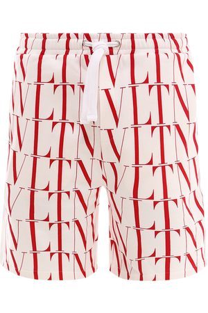 VALENTINO Men Bermudas - Cotton bermuda shorts
