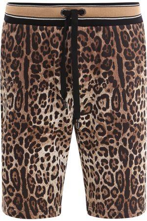 Dolce & Gabbana Bermuda shorts with iconic animalier print