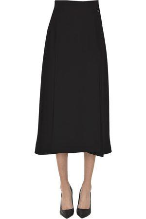 Victoria Victoria Beckham Crepè midi skirt