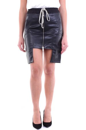 DRKSHDW BY RICK OWENS Mini skirt in eco-leather