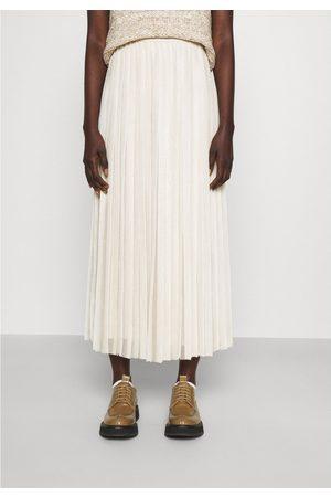 Max Mara Weekend by MaxMara Etiopia Pleated Midi Skirt 10, Colour: Ivory