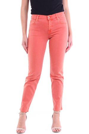 J Brand Women Straight - Straight jeans in rust color