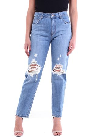 J Brand Straight fit cropped jeans