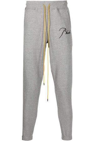 Rhude Logo Lounge Sweatpants Grey